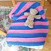 Thin Stripes Baby Blanket pattern