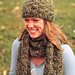 Mossy Scarf and Hat pattern