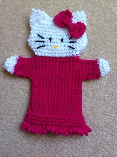 Crochet Hello Kitty | WHITESUNDAYS * | 640x478