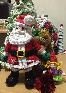 Père Noël Amigurumi crochet /Papa Noel tejido a crochet   Crochet.eu   320x226