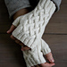 Traveling Cable Hand Warmers pattern