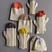 Twisted Rib Hat + Mittens pattern