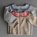Baby Colorwork Cardigan pattern