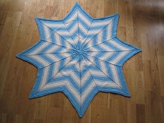 Ravelry Stella Baby Blanket Pattern By Kate Gondwana
