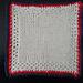 July 4th Organic Dishcloth pattern
