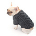 Cabled Dog Cardigan #L40178 pattern