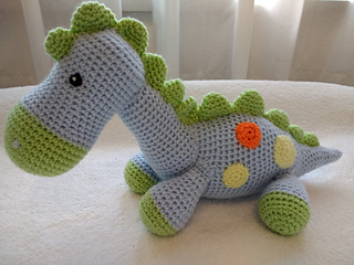 CROCHET PATTERN in English Dinosaur Baby 5 Babies | Etsy | 240x320