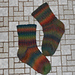 Garter Rib Socks pattern