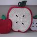 Apple Trivet & Potholder pattern