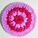 Puff Stitch Coaster pattern