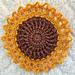 Sunflower Mini Doily pattern
