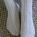 Horseshoe Cable Socks pattern