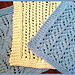 3 Lacy Dishcloths pattern