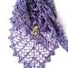 Lavender Path Shawl pattern