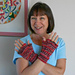 Snazzy Fingerless Gloves pattern