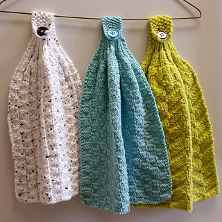 Ravelry Hanging Kitchen Towels Pattern By Reah Janise Kauffman