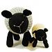 Loretta the Laid Back Lamb pattern