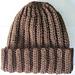 Basic Crochet Ribbed Hat pattern