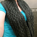 Cecils Cabled Cowl pattern