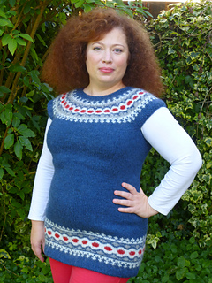 Ravelry Top Down Lett Lopi Vest Pattern By Chris Wass