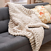 Wonderful Big Stitch Throw pattern