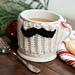 Mustache Mug Hug pattern