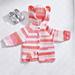 Baby Bear Crochet Hoodie pattern