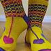 Hippie Heart Socks pattern