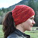 Plant a Seed Ponytail Hat pattern