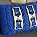 Tardis Pillow pattern
