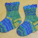 Itty Bitty Doll Sockies pattern
