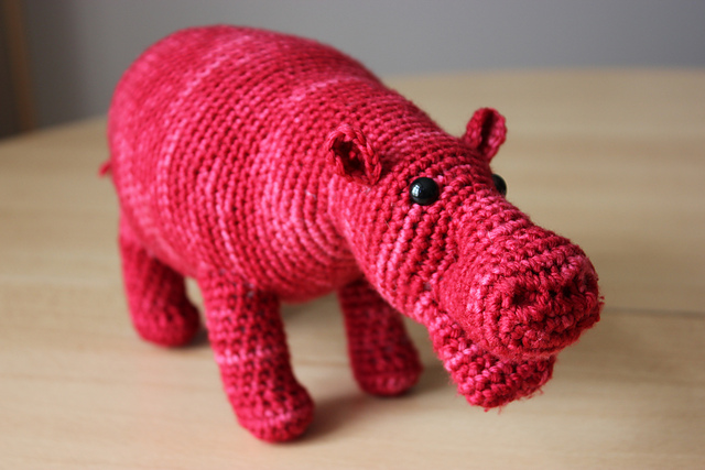 10 Cute Hippo Amigurumi Crochet Patterns Free and Paid | Crochet ... | 427x640
