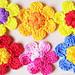 Crocheted Spring Flowers pattern