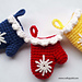 Christmas Mitten Ornaments pattern