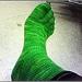 Blasted Toe Socks pattern