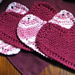 Grandma's Favorite Heart Shaped Dishcloth pattern