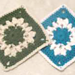 """Knotted Puffs 6"""" Square pattern"""