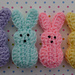 Easter Marshmallow Bunnies pattern