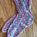 conventional-heel socks pattern
