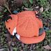 Fox Tea Cosy pattern