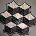 Optical Illusion Cube Throw pattern