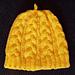 Tillamook Cabled Hat pattern