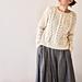 Tsubaki Pullover pattern