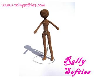 bambole schema gratis amigurumi crochet tutorial uncinetto | 268x320