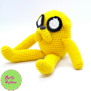 Jake the dog Amigurumi Keychain by MiaHandcrafter on DeviantArt | 320x320