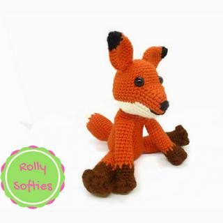 Schema all'uncinetto della volpe del piccolo by HappyCoridon ... | 320x320