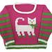 Cat Pullover pattern