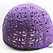 """Openwork crochet hat """"Blackberry"""" pattern"""