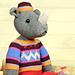 Marvin the Rhino / Nashorn pattern