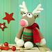 PAULE Rentier / Reindeer pattern